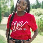 Ava Said Women's T-Shirt (red)