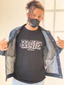 Ava Said Brave Men's Tee