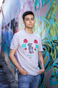L.A. T-shirt (grey)