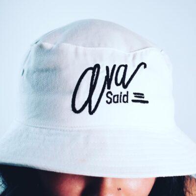 Ava Said Brand Bucket Hat